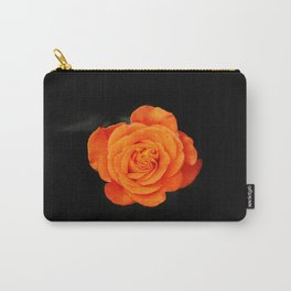 Romantic Rose Orange Carry-All Pouch