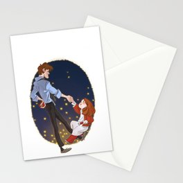 Little Amelia and her Raggedy man. Stationery Cards