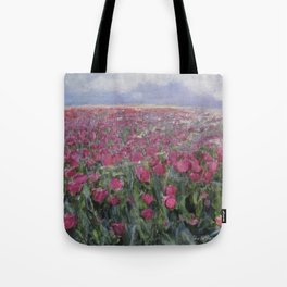 Flower Fields Tote Bag