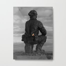 The miner remembers Metal Print