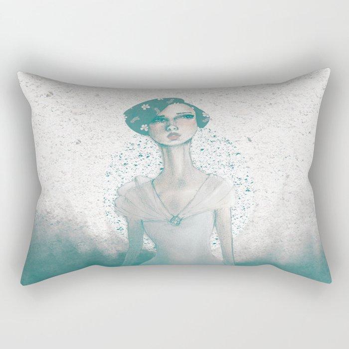 Evoke of Interest Rectangular Pillow