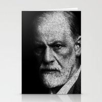 freud Stationery Cards featuring Sigmund Freud quote by JuanOsborne