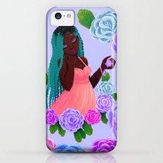 Turquoise Twists iPhone 5c Slim Case