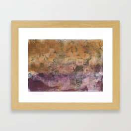 Abstract No. 365 Framed Art Print