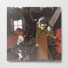 Fucina Metal Print