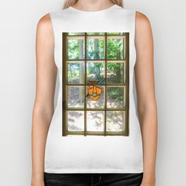 Mask and Quill Biker Tank