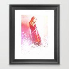 Light Echos Framed Art Print