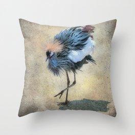 The Dancing Crane Throw Pillow