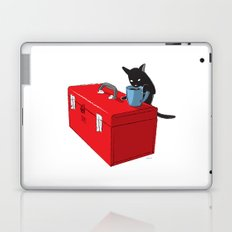 Chat Noir Beverage Tipper Laptop & iPad Skin