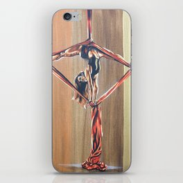 Inverted diamond iPhone Skin
