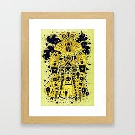 yellow fever Framed Art Print