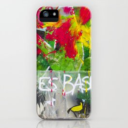 Art is Tra$h iPhone Case