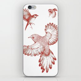 A beat of wings iPhone Skin