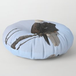 Eagle Floor Pillow