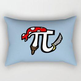 Pi Pirate Rectangular Pillow