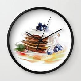 cake4 Wall Clock