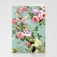 flora Stationery Cards featuring Flora by mentalembellisher