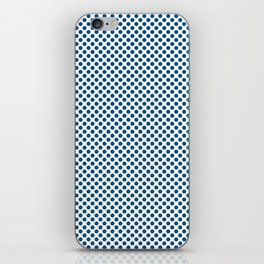 Snorkel Blue Polka Dots iPhone Skin