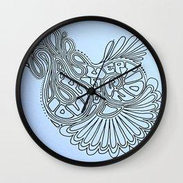Love Deceptions Wall Clock