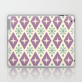 Mid Century Modern Atomic Triangle Pattern 103 Laptop & iPad Skin