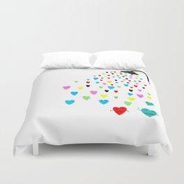 Love shower Duvet Cover