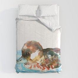 Duck, Bufflehead Duck baby Wild Duck Comforters