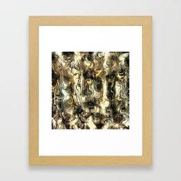 Nervous Tension Framed Art Print