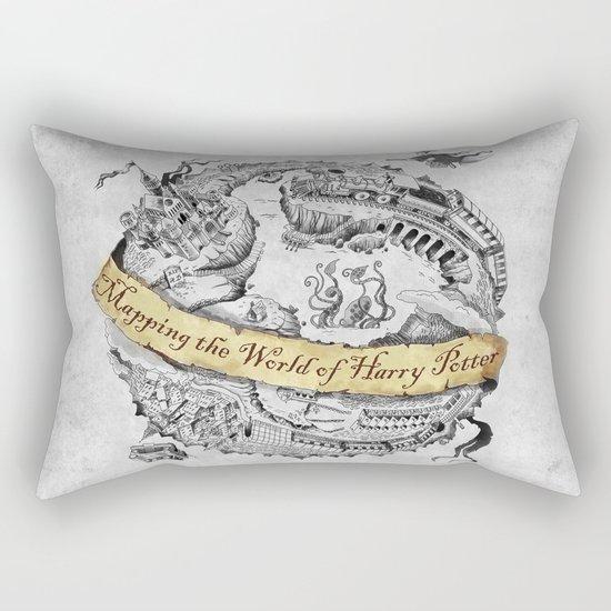 Harry's Map Rectangular Pillow