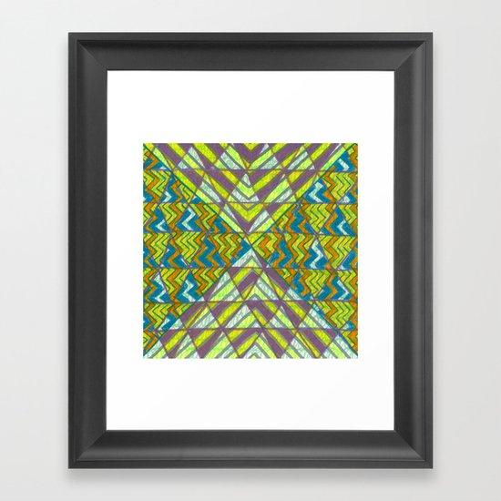 Trizzle Framed Art Print
