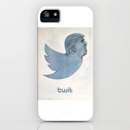 Twit Trump iPhone Case