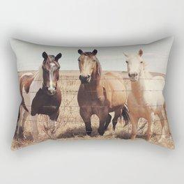 Horses Art Print, Horse Poster, Horse Photography, Animal Portrait, Animal Art Print, Animal Prints, Animal Poster, Horse Wall Art, Horses Rectangular Pillow