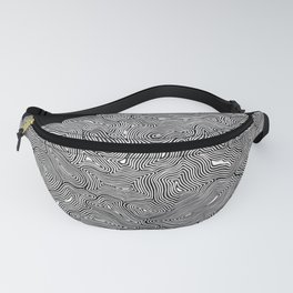 Inky Ghost Maze I Fanny Pack