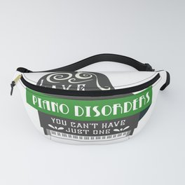 Piano Player Classical Music Music Teacher Fanny Pack