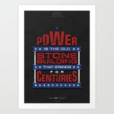 House of Cards - Chapter 2 Art Print