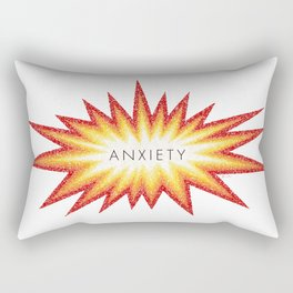 Anxiety Attack Rectangular Pillow