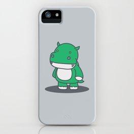 Dinopotamus iPhone Case