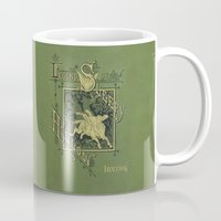 book cover Mugs featuring Sleepy Hollow Antique Book Cover by Even Oddities
