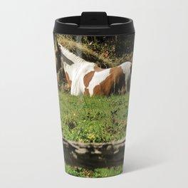 Paint By Nature Horse Photo Travel Mug
