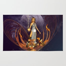 Beautiful fairy  Rug