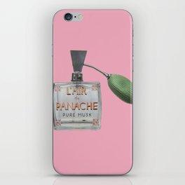L'AIR de PANACHE iPhone Skin