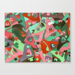 Colorful Patrick Canvas Print