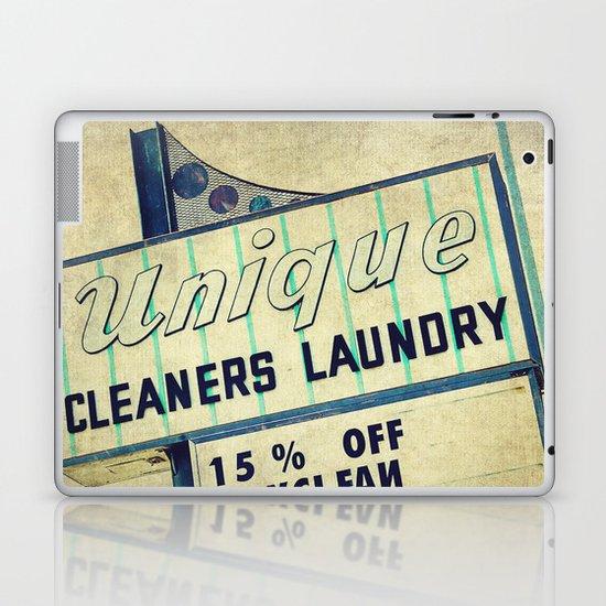 Unique Laundry Sign Laptop & iPad Skin
