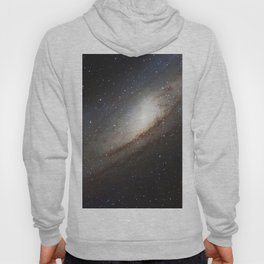 The Andromeda Galaxy, spiral galaxy in the constellation of Andromeda Messier 31 M31 Hoody