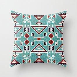 Native American Navajo pattern Throw Pillow