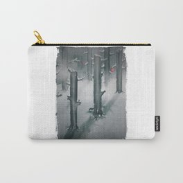 The Woods in Winter Carry-All Pouch