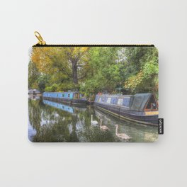 Narrow Boats Little Venice London Carry-All Pouch