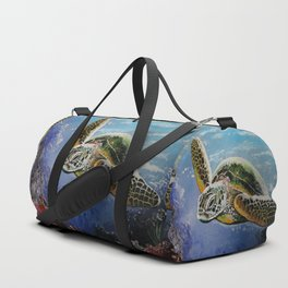 Sea Turtle Duffle Bag