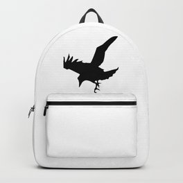 Raven A Halloween Bird Of Prey  Backpack