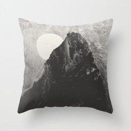 Titanium Rock Throw Pillow