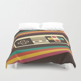 Retro Video Game 2 Duvet Cover